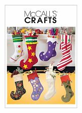 McCalls Crafts SEWING PATTERN 2991 Christmas Stockings