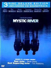 MYSTIC RIVER - KEVIN BACON, TIM ROBBINS, SEAN PENN - 3 DISC DELUXE SET -  DVD