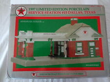 1997 LIMITED EDITION TEXACO SERVICE STATION #15 DALLAS TEXAS 3RD IN A SERIES