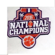 2016 Clemson NCAA Football National Champions Patch Official & Packaged PREORDER