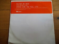 "AZZIDO DA BASS FEAT. ROLAND CLARK - SPEED (CAN YOU FEEL IT?) 12"" RECORD / VINYL"