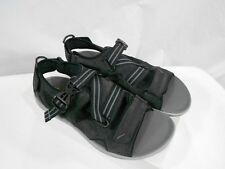 Clarks $115 Wave.Nomad Mens US 9 Black Suede Leather Sandal Shoe 63425 Samp