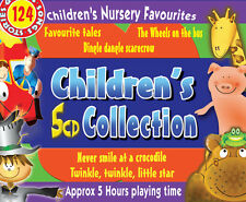 Children's 5 CD collection - Nursery rhymes, fairy stories and fav kids songs