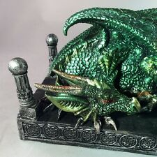 Sleeping Dark Legends Dragon Ornament Statue Figure Figurine Gift Gothic 20cm