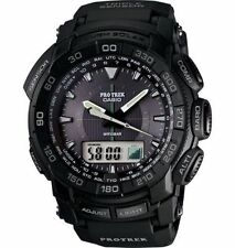 Casio Men's PRG-550-1A1 Pro-Trek Tough Solar Triple Sensor Watch