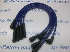 BLUE 8MM PERFORMANCE IGNITION LEADS.. VW GOLF MK2 1.3 1.6 1.8 GTi MK3 1.6i 1.8i