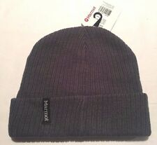 NEW Marmot Smith Winter Hat Cap Slate Grey One Size Fits Most Beanie Ski Snow