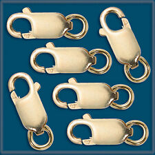 10pcs 14K GOLD FILLED LOBSTER CLAW 13.5 mm CLASPS
