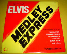 PHILIPPINES:ELVIS PRESLEY MEDLEY DISCO LP,BEATLES COVER VERSIONS -The Explosives