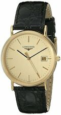 Longines La Grande Classique Leather Men Watch L47202322 L4.720.2.32.2 New Orig