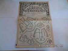 LE JOURNAL DES BRODEUSES JOURNAL PROFESSIONNEL N°811 OCTOBRE 1962    I24