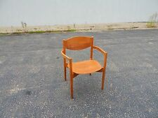 Mid Century Jens Risom Side Chair Desk Or Lounge