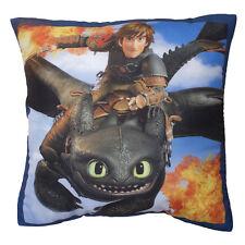 Dreamworks Drachenzähmen leicht gemacht Dragons Kissen 40 x 40 cm Kuschelkissen