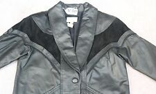 PETITE SOPHISTICATE  WOMEN LEATHER JACKET/COAT Size - M. TAG NO. V30