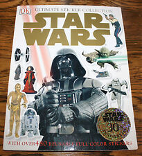 STAR WARS ULTIMATE STICKER COLLECTION DK Publishing 2007 480 Full Color Stickers