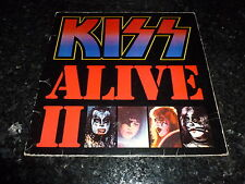 KISS - Alive II - 1982 US-pressed Casablanca label issue 20-track double LP
