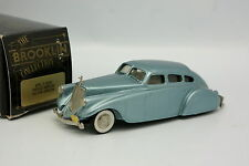 Brooklin 1/43 - Pierce Arrow Silver Arrow Bleue 1933