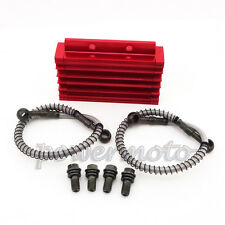 CNC Cooling Radiator Oil Cooler For 125 140 cc YX Lifan Zongshen Pit Dirt Bike