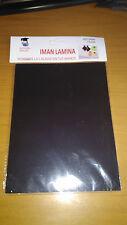 LAMINA IMAN PARA MANUALIDADES 15cm x 20 cm 2 mm grueso