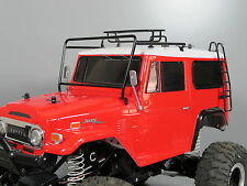 Windshield Protector Frame Roof Rack Stair Combo Tamiya 1/10 R/C Land Cruiser 40