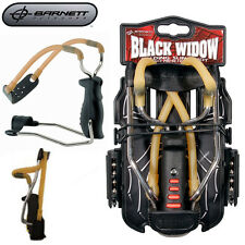 Genuine Barnett Black Widow Catapult Slingshot – fold away wrist support arm