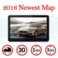 "5"" HD Car GPS System Navigation Touch Screen SAT NAV 8GB Free US Maps MP3 FM"