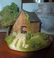 LILLIPUT LANE COUNTRYSIDE BARN COTTAGE, AMERICAN LANDMARKS, RAY DAY, NIB