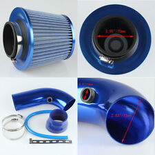 Universal Multiple Combined Cold Air Injection Intake System Pipe Kit+Air Filter