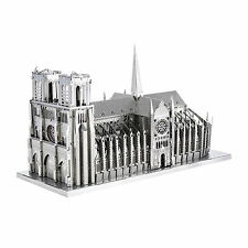 Notre Dame 40 Teile 3D-Metall-Bausatz ICONX Metal Earth 1303