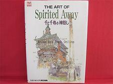 The Art Of Spirited Away illustration art book
