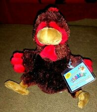 Webkinz Rooster Brand new with Sealed Unused Code HM346 Very Cute!