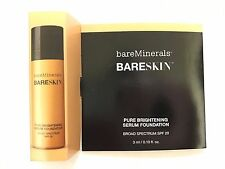 bareMinerals Bareskin - Pure Brightening Serum Foundation 0.10 oz Bare Sand 12