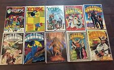 ECLIPSE MONTHLY #1 2 3 4 5 6 7 8 9 10 COMPLETE SET NM