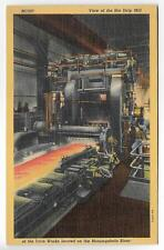 HOT STRIP MILL,IRVIN WORKS STEEL MILL~CLAIRTON,PA 1939