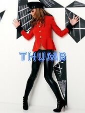 Cheryl Cole - 8x6 inch Photograph #005 in Tight Black PVC Rubber Leggings