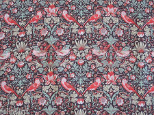 "LIBERTY OF LONDON TANA LAWN FABRIC DESIGN ""Strawberry Thief"" 2.2 METRES (220 CM)"