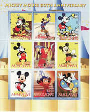 2008 Mickey Mouse 80th Anniversary 9 Stamp  Sheet - SV0319