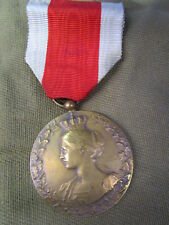 WWI BELGIUM / BELGIAN National Relief Operation Medal 1914/1918 #2 ~ BEAUTY!!!