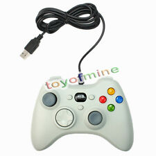 Bianco USB Wired gamepad controller Joystick Joypad Come PER PC COMPUTER
