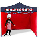 MOBILE HEAVY DUTY GAZEBO ALUMINIUM HEXAGON FRAME CATERING TRAILER MARKET STALL