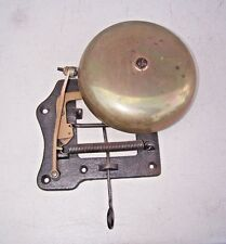 Antique BOXING BELL Brass ( 7 inch)- BOXING RING BELL GREAT SOUND