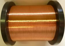 40AWG - ENAMELLED COPPER GUITAR PICKUP WIRE, MAGNET WIRE, COIL WIRE - 1KG SPOOL