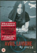 AVRIL LAVIGNE MY WORLD  DVD + CD