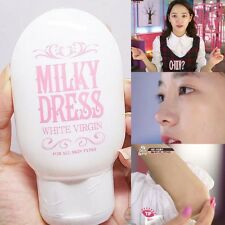 MILKY DRESS WHITE VIRGIN 65g - FACE & BODY Whitening Lotion- Korean Cosmetic HOT