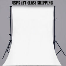 5x7FT White Wall Vinyl Cloth Photography Backdrop Photo Background Studio P