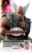 * NEW Bundle of 5 x Official TEKKEN CARD TOURNAMENT Booster Packs 25 Cards Total