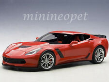 AUTOart 71262 CHEVROLET CORVETTE C7 Z06 1/18 DIECAST MODEL CAR TORCH RED