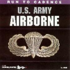 Run to Cadence Military US Army Airborne Music Drill CD