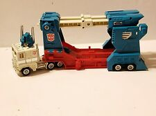 Ultra Magnus Vintage Hasbro G1 Transformers Car Carrier Diesel Semi Truck 1984