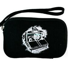 Black Soft Zippered Camera Carrying Sleeves Bag Pouch Accessories Storage Case